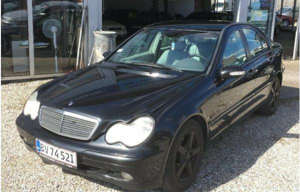 Mercedes C200 2,2 CDi Classic aut. 4d