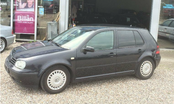 VW Golf IV 1,6 5d